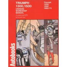 Triumph 1300 1500 1965-73 Autobooks Workshop Manual 870