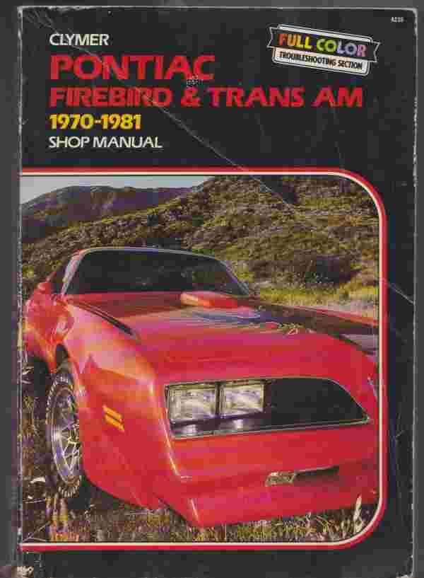 Pontiac Firebird And Trans Am 1970