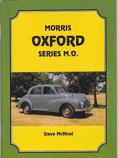 Morris Oxford Series MO by Steve McNicol