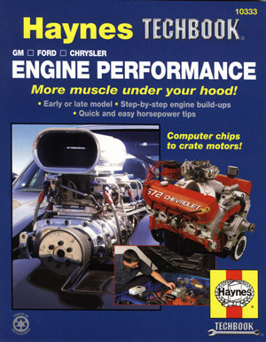 GM Ford Chrysler Engine Performance Manual by Jay Storer