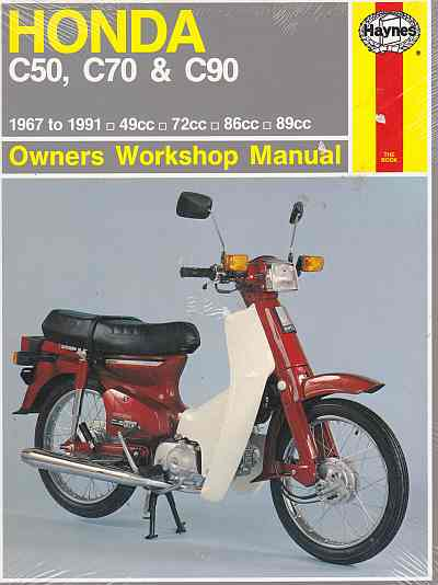 Honda C50 C70 and C90 (67 - 1991) (324) Owners Workshop Manual