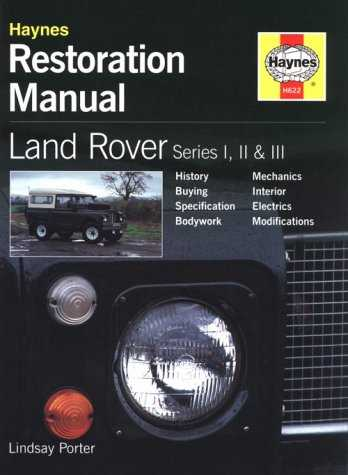 Land Rover Series I II and III Restoration Manual H622