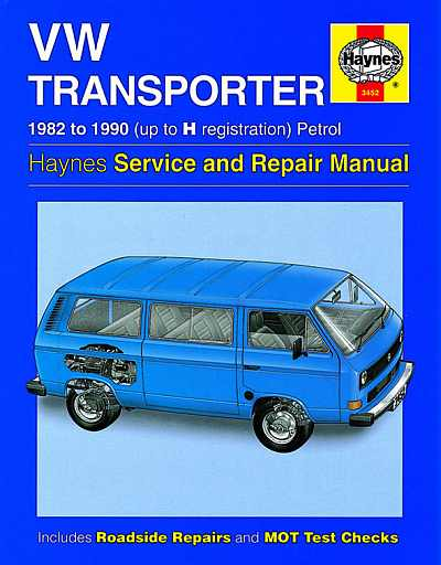 VW Transporter (82-90) Water Cooled Haynes Service and Repair M