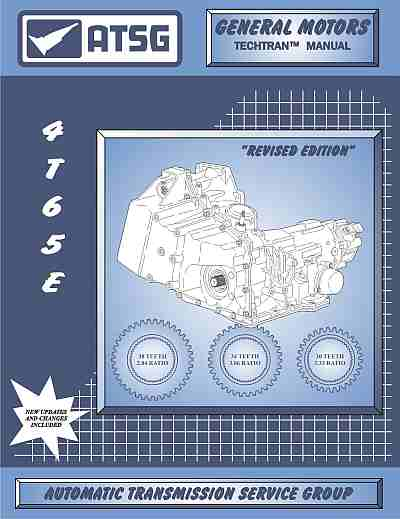 GM THM 4T65-E Transaxle Repair Manual
