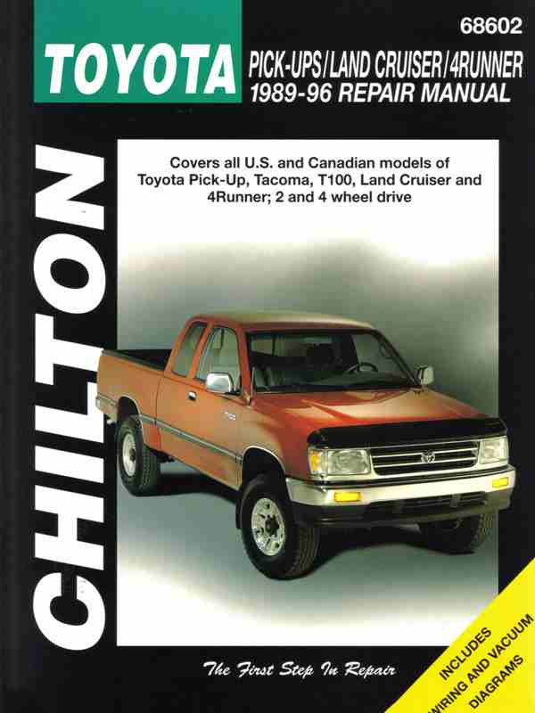 Toyota Land Cruiser and 4-runner: 1993 to 1996 (Chilton Total Ca