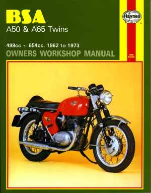 BSA A50 and A65 Series Owner's Workshop Manual (Motorcycle
