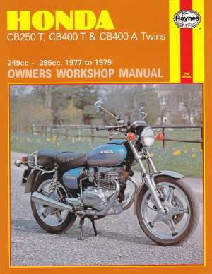 Honda CB250T CB400T and CB400A twins Owners Workshop Manual 978