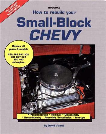 How to Rebuild Your Small Block Chevrolet by David Vizard 978155