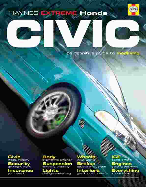 Honda Civic: The Definitive Guide to Modifying