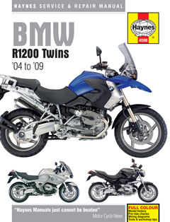 BMW R1200 Twins 2004 - 2009 Repair Manual HM4598