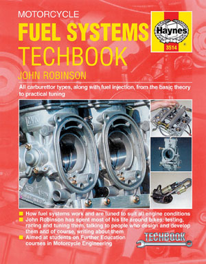 Motorcycle Fuel Systems Techbook by John Robinson 3514
