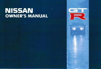 Nissan Skyline R32 GTR (GT-R) 1988 Owners Manual by Nissan Staff