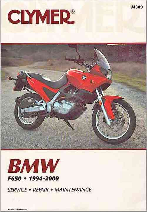 BMW F650 1994-2000 Repair Manual M309