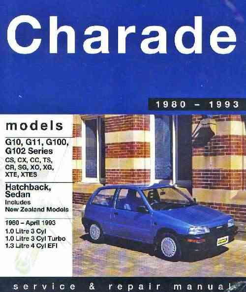 Daihatsu Charade 1980 - 1993 Gregorys Owners Service and Repair