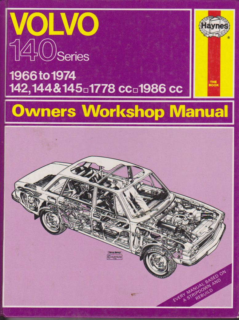 Volvo 140 Series 142 144 145 1966-1974 Service Repair Manual