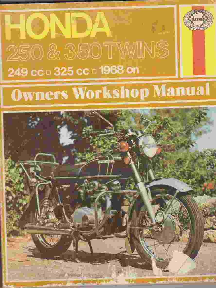 Honda CB250 & 350 Twins 1968 On Owner's Workshop Manual