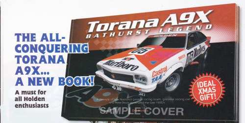 Torana A9X Bathurst Legend The ALL conquering Torana A9X