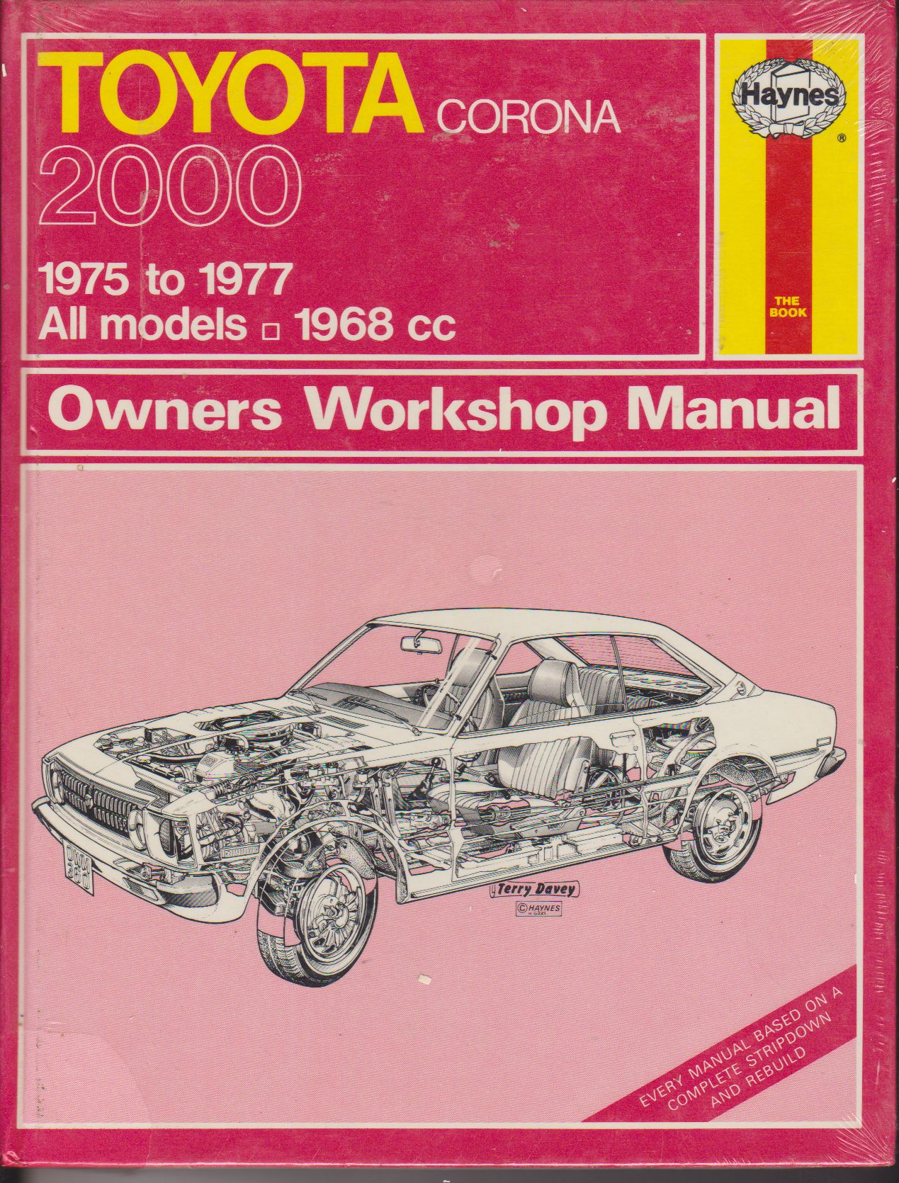 Toyota Corona 2000 1975-77 Owners Workshop Manual