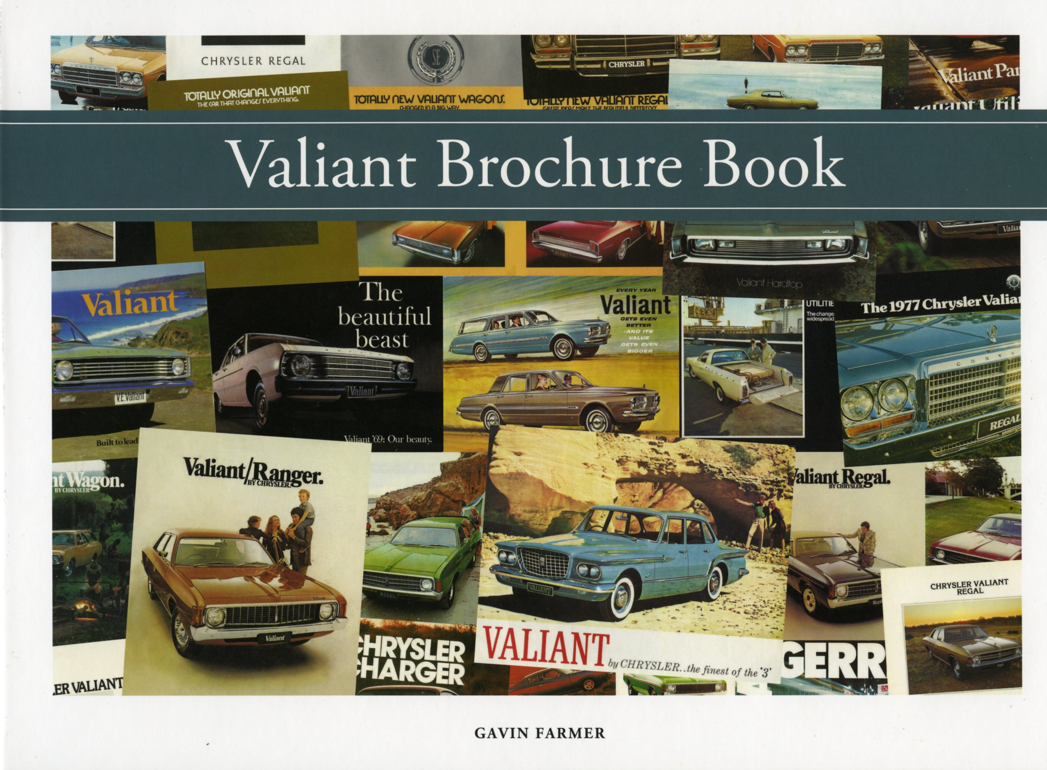 Valiant Brochure Book by Gavin Farmer