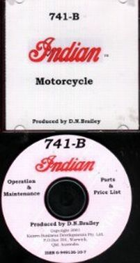 714B Indian Motorcycle Maintenance. Operation And Parts Catalogu