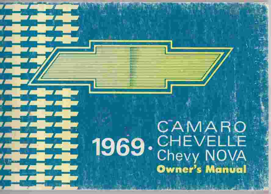 1969 Chevelle-Chevy Nova-Camaro Owner's Manual